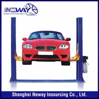 cheap 3.5t floor plate 2 post car lift