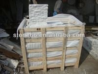 Local quarry white pink vein marble cheapest factory prices