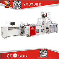 HERO BRAND HDPE LDPE High quality Carry Poly Nylon Polythene Zipper Bag Making Machine