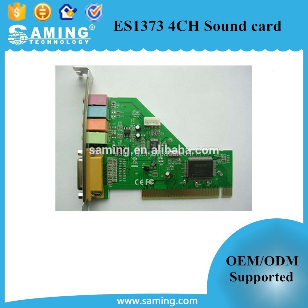 ES1373 4CH Sound card / 4 channel audio card