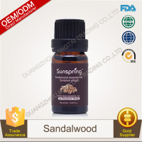 100% Pure Plants Extracts Sandalwood Essential Oil OEM/ODM Professional Supplier