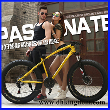 26 inch big tire fat bike/cheap snow bicycle for sale