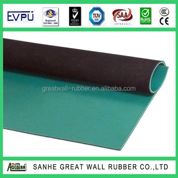 Low Price China Factory Rubber Composite Anti-Static Rubber Sheet