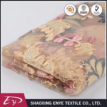 Wholesale Oeko-Tex certified fashion embroidered fabric for wedding dress