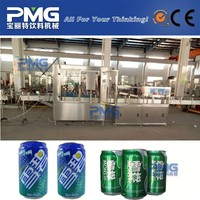 Carbonated Beverage Soda and Beer Tin Can Filling Machine and Seaming Machine