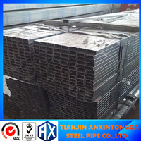 40X40 premium quality anti-corrosion steel pipe/steel lean pipe/6'' steel tube