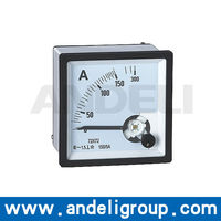 Analog DC Amp Panel Meter
