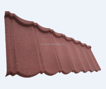 Stone coated steel long span color coated corrugated roofing sheet/roofintg tile