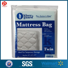 Clear moving plastic bags for furniture,twin size mattress covers