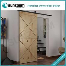 Widely Used Superior Quality Modern Deisgn Modern Sliding Barn Door Hardware For Wooden Door
