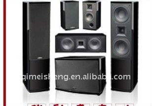 5.1channel home theatre speaker system/amplifier/5.1 home theatre speaker box