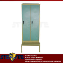 living room locker cabinet with bench/latest wardrobe door design/steel kids wardrobe cupboard clothes almirah designs