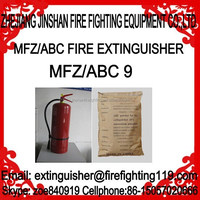 9kg ABC dry powder chemical fire extinguisher