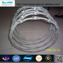 BTO-10 Stainless Steel National Security Razor Barbed Wire