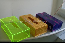 Acrylic customized tissue box