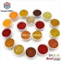 12 Color SHINY GLITTER POWDER DUST for Nail Art Acrylic Tips Decoration Set