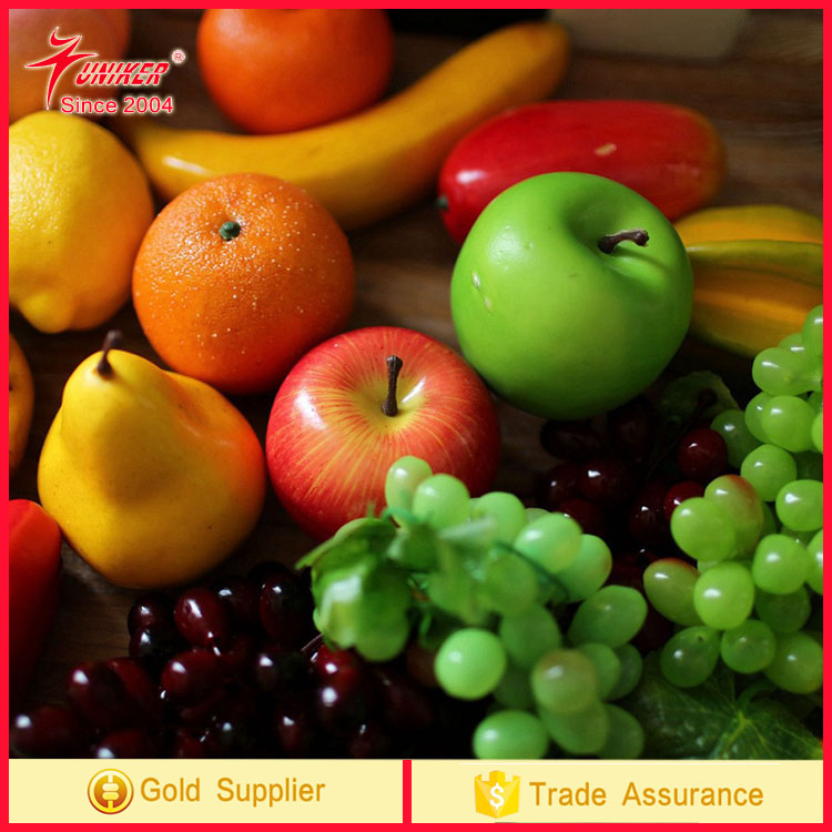 High Simulation Decoration Artificial Fruit Model for wedding Home Party Decor tropical artificial fruit
