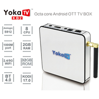 Factory direct sale 32gb rom Android 6.0 KB2 tvb tv box