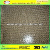 304 316LStainless Steel Knitted Wire Mesh for vapour liquid filtering
