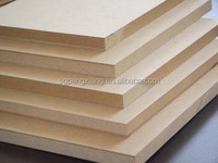 Standard size MDF board price from china