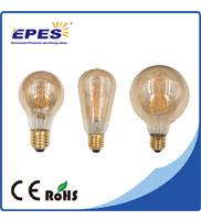 Led Light Import Energy Saving Glass Cover LED Dimmable Carbon Filament Bulb
