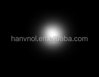 OEM High quality acrylic pmma material led optical lens for 4W/5W led spotlight