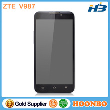 Wholesale Original ZTE V987 Brand New Mobile Phone Dual Camera 2G/3G Quad Core GPS 1.2Ghz GSM/Cdma IPS Screen Smart Phone