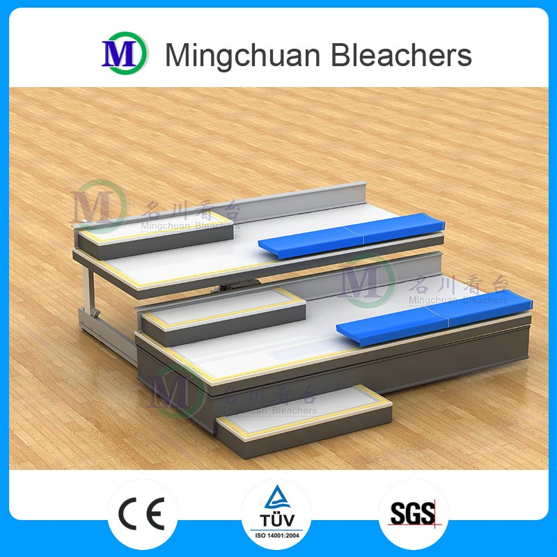 Venus retractable grandstand bleachers plastic seats stadium chairs indoor basketball bleacher seating for sports