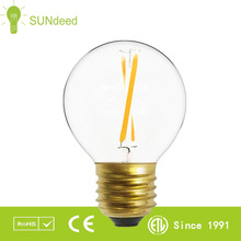 led bulb aluminum housing 4w G45 CE ROHS china globe filament bulb3w led bulb 1w 2W 3W