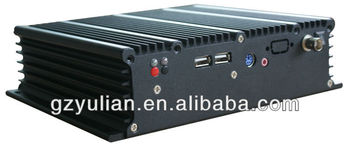 YULIAN Fanless Mini Industrial PC/Embedded industrial computer box/Fanless pc with HDMI