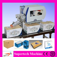 Automatic Online Barcode Sticker label printing machine and carton labeling machine