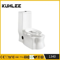 KL-1340 sanitary ware high water tank one piece toilet washdown water system toilet