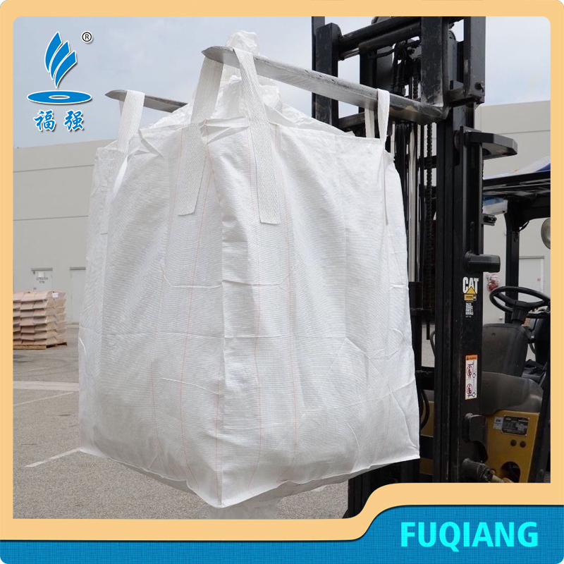 OEM Fibc bags stacking containers Super top spout bulk bag firewood Sacks