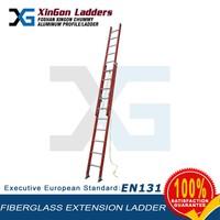 fiberglass FRP extension step ladder with ANSI cert