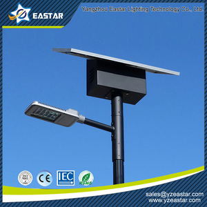 6m pole 30W light fixture solar street light for outdoor lighting project