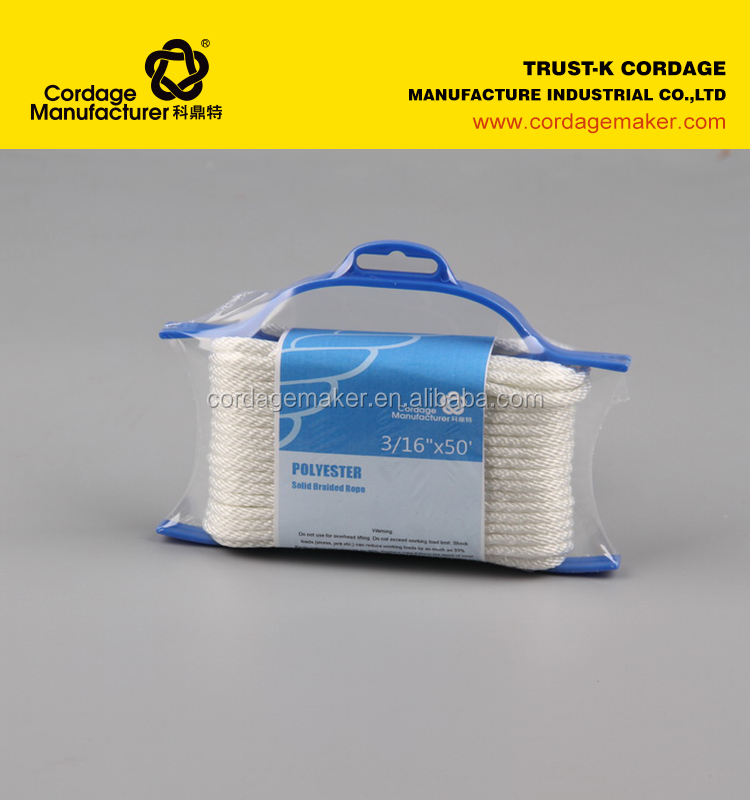 Synthetic Rope(Polyester,PP Multifilament,Nylon)