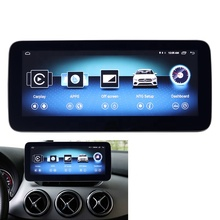 <strong>Android</strong> multimedia player B Class W246 round corner HD 1920 anti-glare touch screen 10.25&quot; navigation display GPS stereo