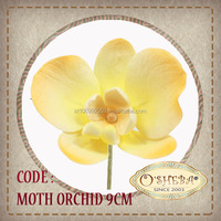 cake decoration Gum Paste : Moth Orchid - Yellow