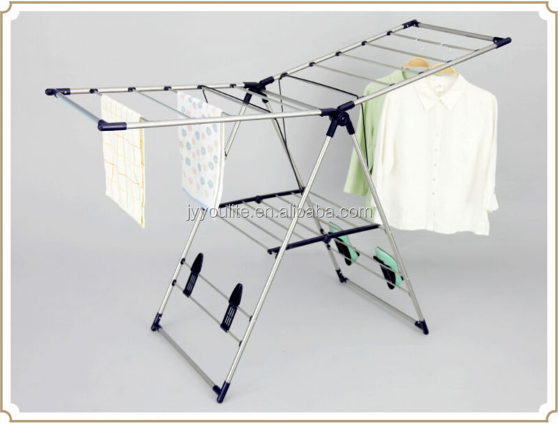 shop clothes hanger stand drying rack for towel
