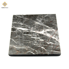 New products sandblasted 26x26 sunny grey marble