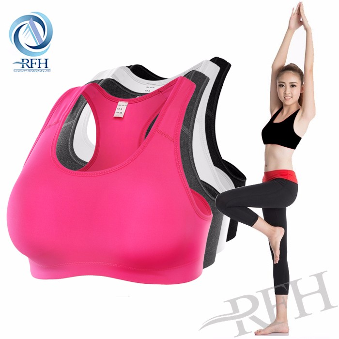 Made in china cheap compression gym fitness sports wear women sexy yoga bra