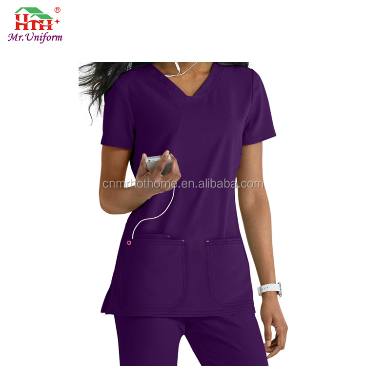 High Quality Doctor Workwear Hospital Scrub Pants Infirmary Scrub Top