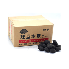 Pillow Coconut Shell Charcoal Briquettes For Barbecue