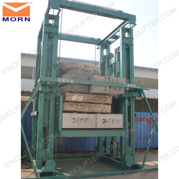 Warehouse hydraulic freight platform lifts for sale