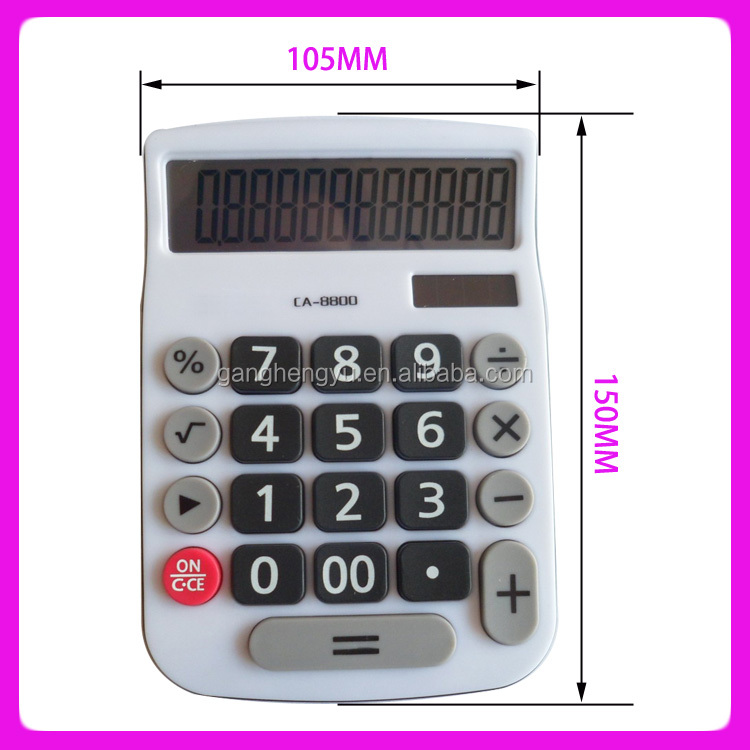 12-Digit Desktop Office Solar Calculator