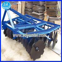 agriculture machinery tractor mounted pair setting disc harrow