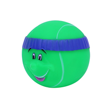 China latest product cute style excellent quality pet toy ball with smiling face