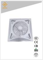 14 inch / 60x60 false ceiling fan square w/ remote control
