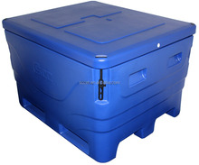 Roto-mold fish containers Insulated fish bin chilly fish tub