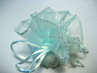 Popularly liked organza round drawstring wraps